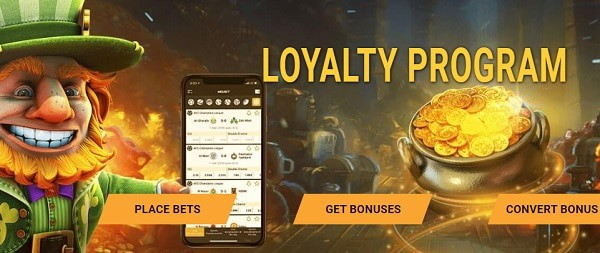 Enjoy loyalty rewards