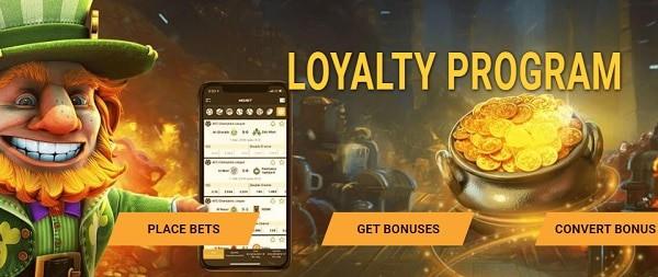 Enjoy loyalty rewards