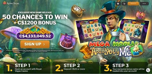 50 Exclusive Free Spins Bonus