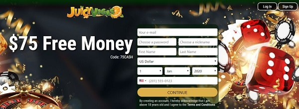 Sign Up now and get free bonus
