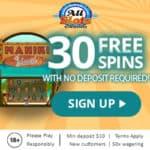 All Slots Casino free spins no deposit bonus