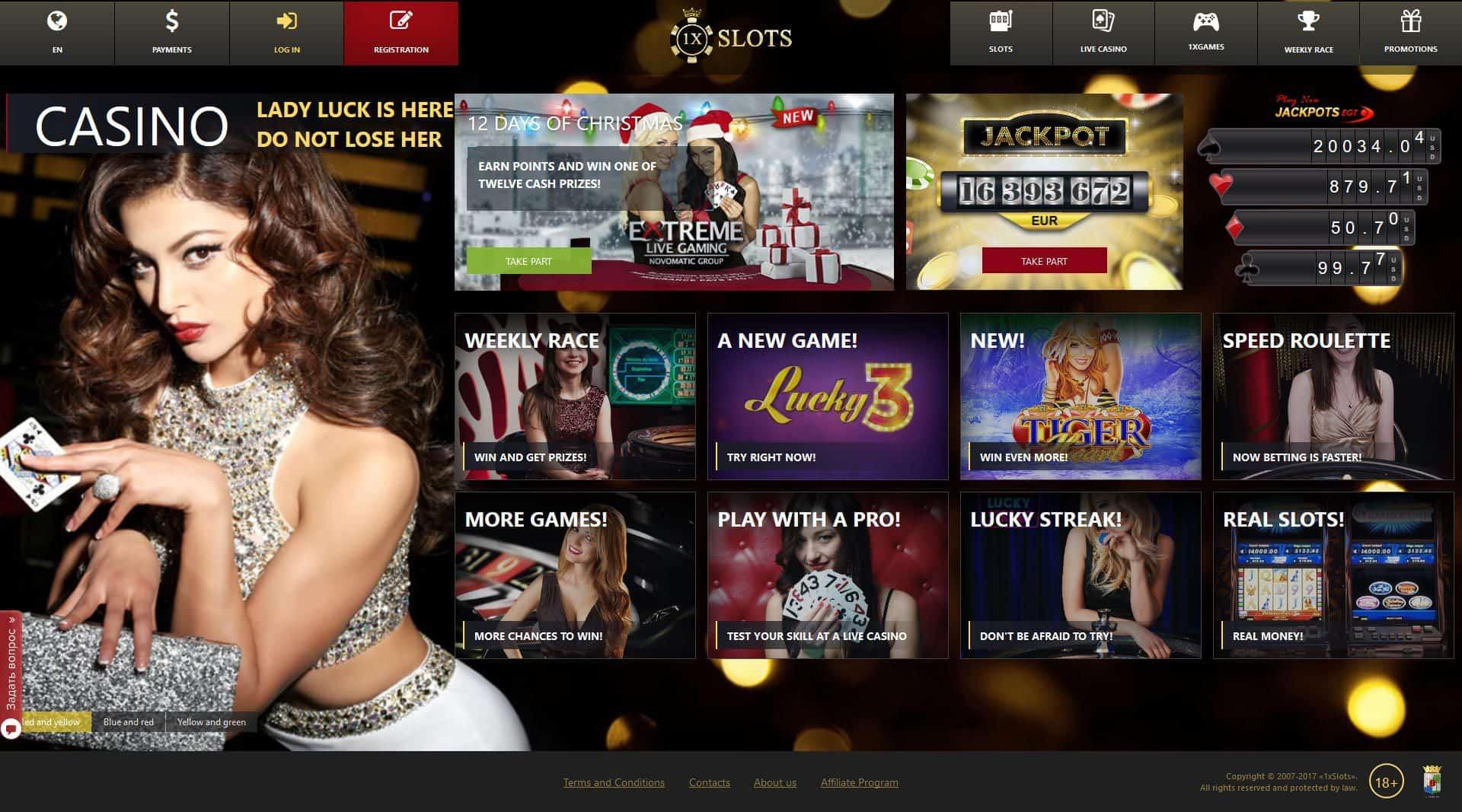 1xSlots.com Casino Review & Bonuses