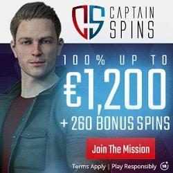Exlcusive Bonus at CaptainSpins.com