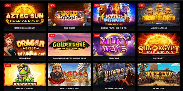 Tele Vega Casino Games Website