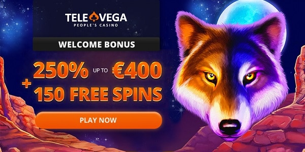 250% welcome offer (up to 400 EUR/USD) + 150 Free Spins