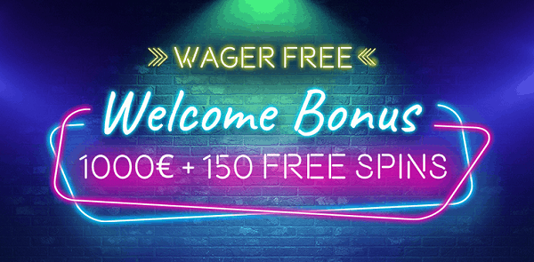 1000 EUR free money and 150 gratis spins up for grabs