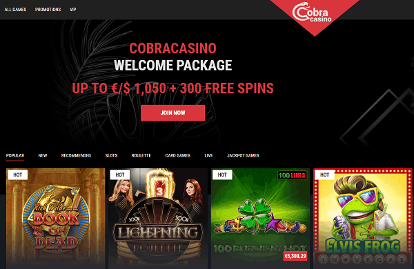 10 no deposit free spins exclusive promotion