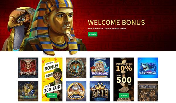 Dozen Spins welcome bonus