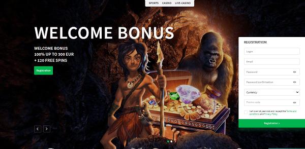 Welcome Bonus + Free Spins