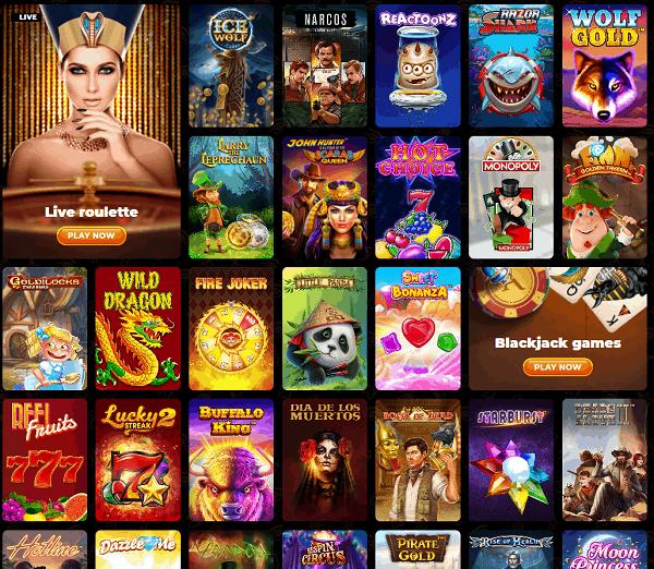 AmunRa Casino 100 Free Spins