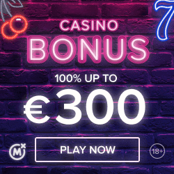 Get 300 EUR bonus and 5 EUR free bet!