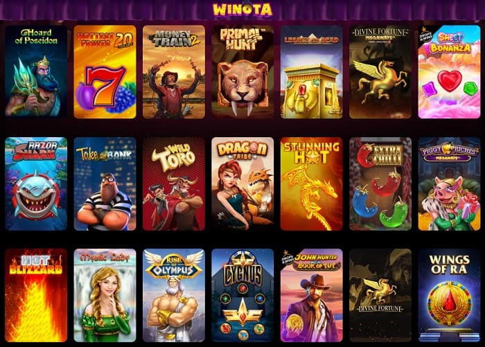 Winota Casino and Mobile Games