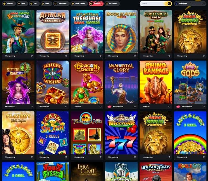 Boomerang Casino snapshot review
