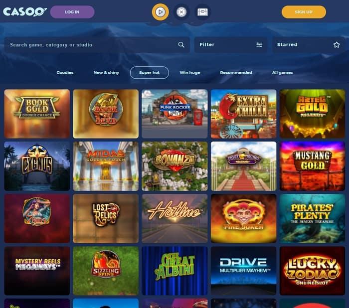 Casoo Casino free bonuses