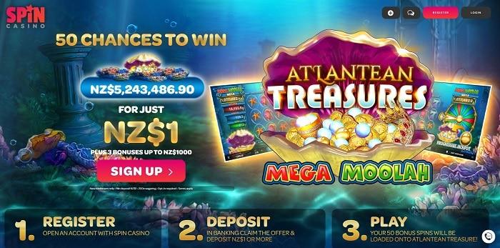 Spin Casino Exclusive Bonus