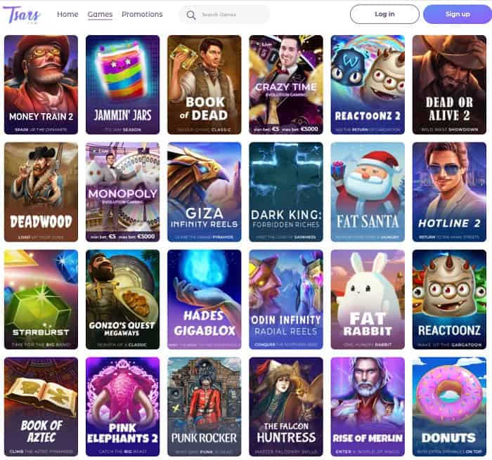 Tsars CasinoReview and Rating