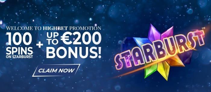 HighBet free play bonus