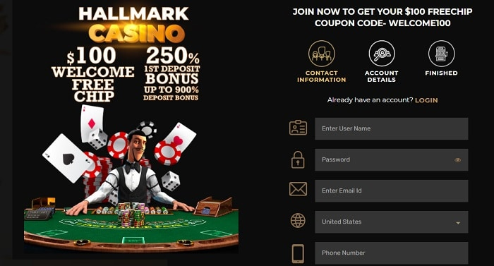 250% Welcome Bonus and Free Cash Offer!