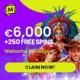 Maximal Wins Casino bonus banner 250x250